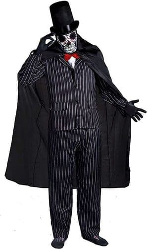 Day of The Dead Suit XXL Halloween Costume (ILFD)